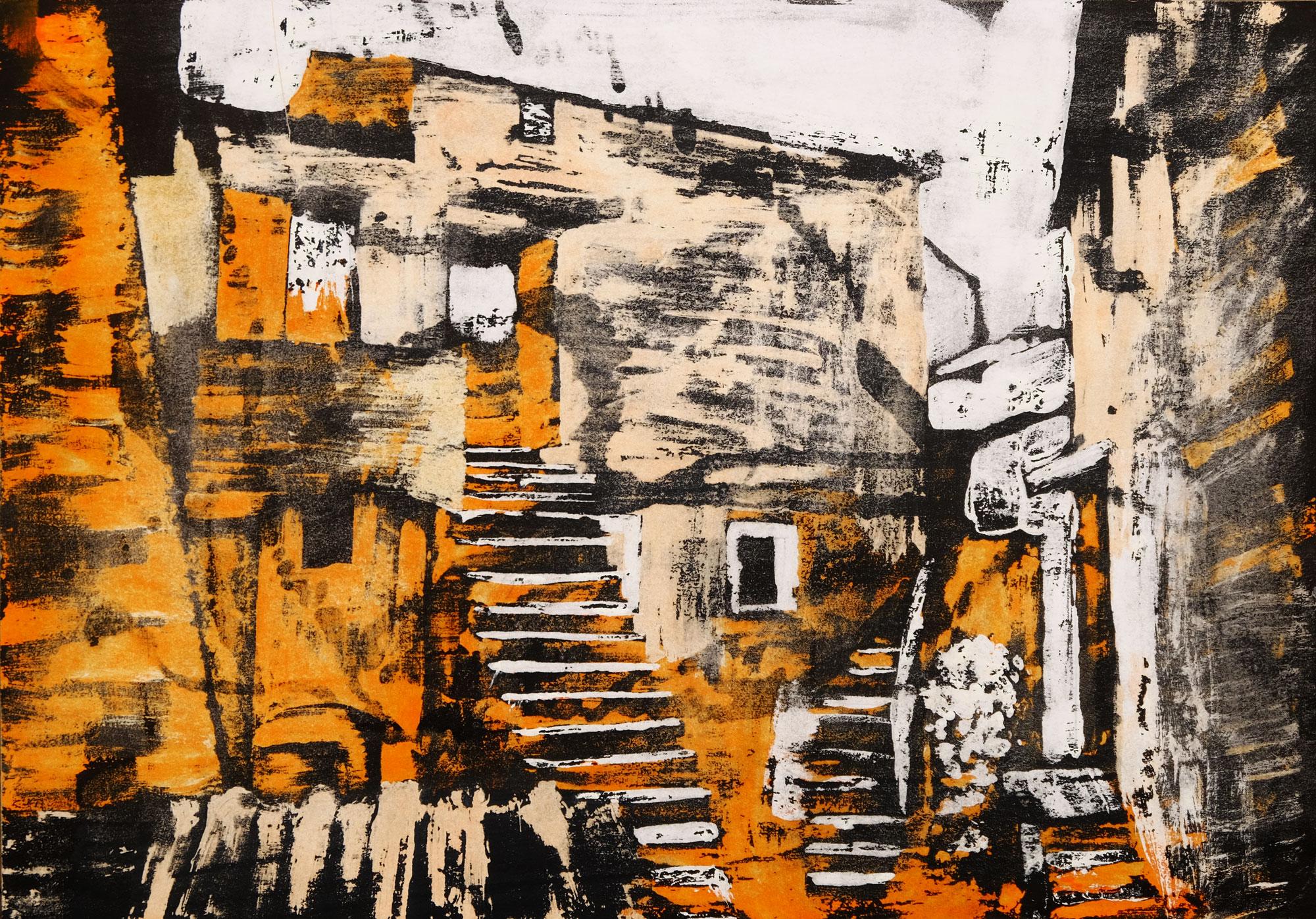 Scorcio del borgo di Calcata - Laura Di Bidino