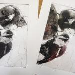 Atelier Hirennette collagraph